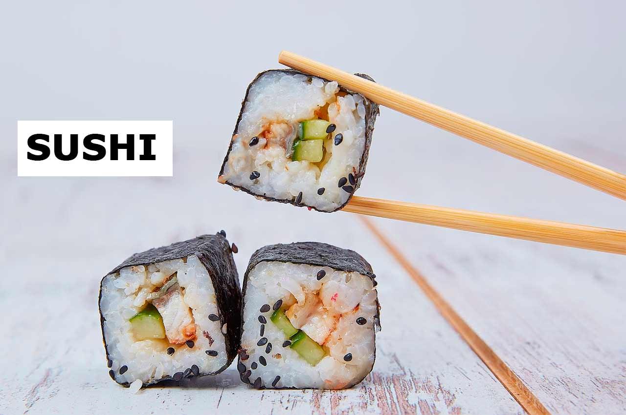 Суши как визитная карточка традиционной японской кухни