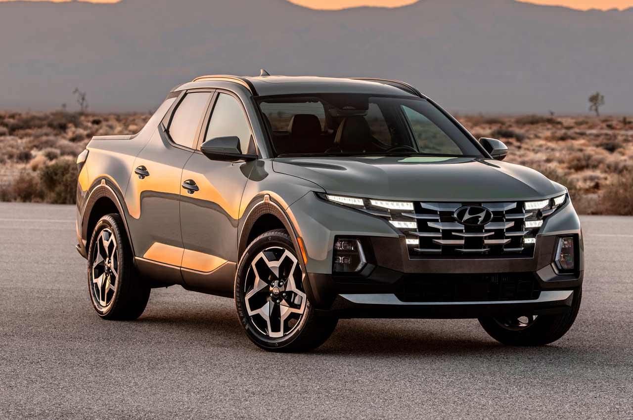 Hyundai показала первый серийный пикап Santa Cruz | фото