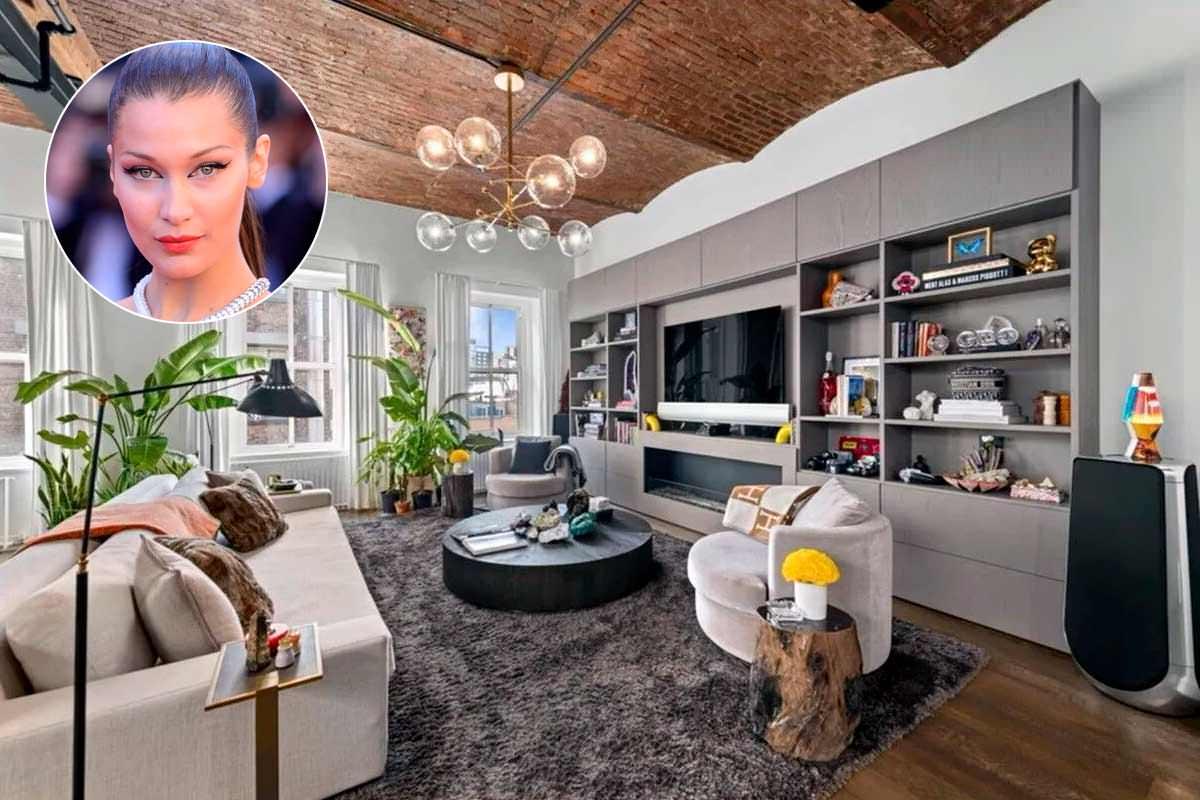 Белла Хадид продала пентхаус в Нью-Йорке за $6,5 млн | фото