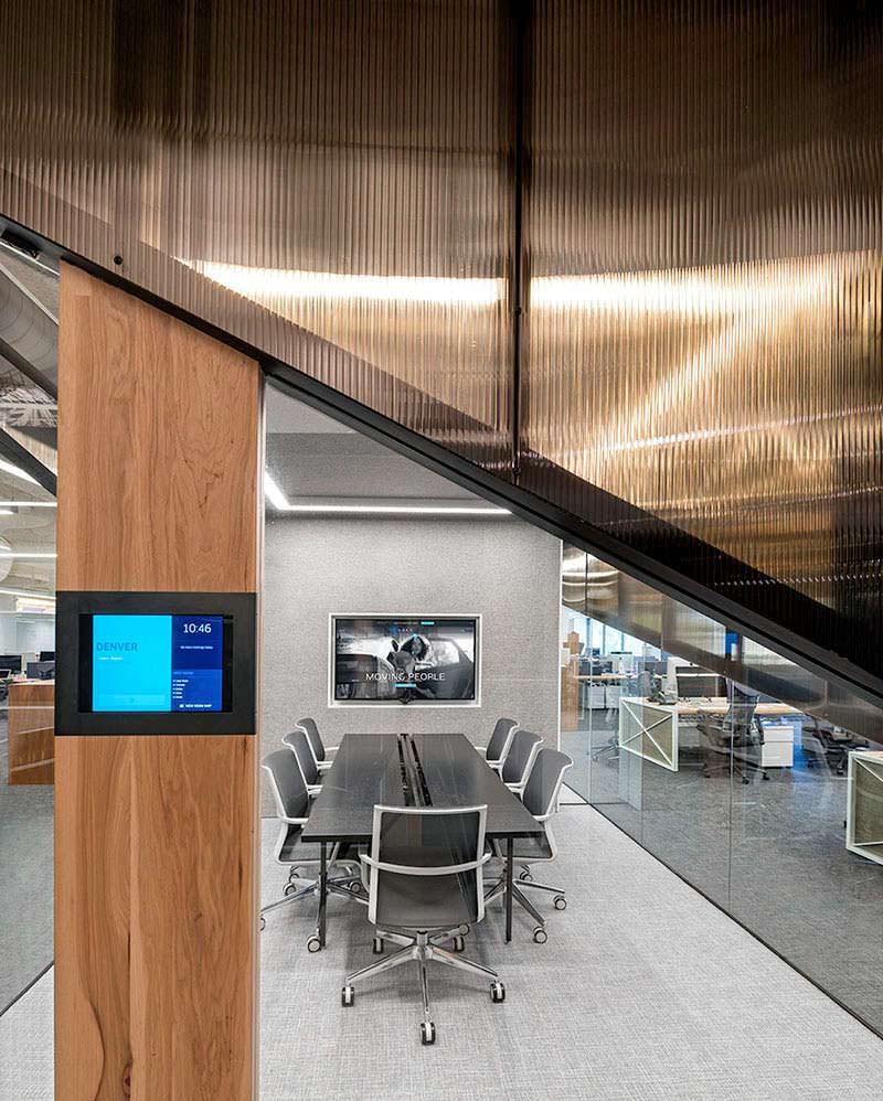 Конференц-зал в офисе Uber