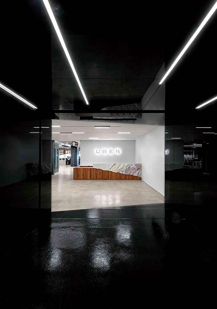 Внутри офиса Uber