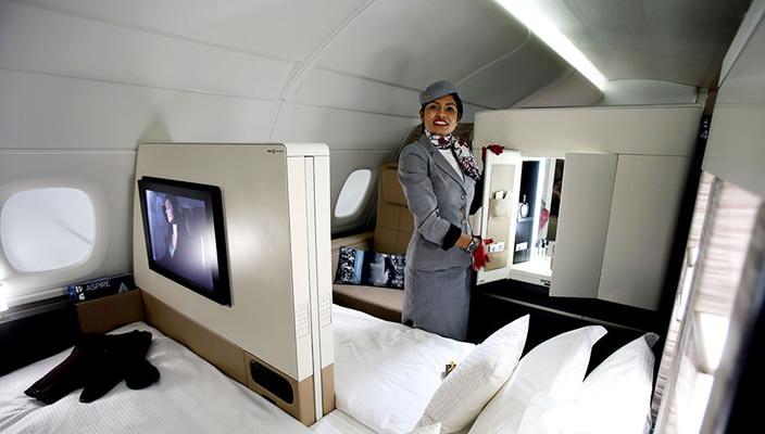 Империал-класс в Etihad Airways