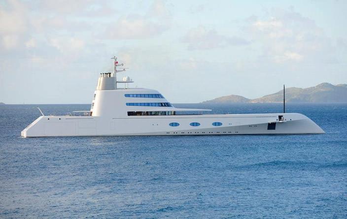 Самая дорогая яхта в мире #5 A. Цена $323 млн.