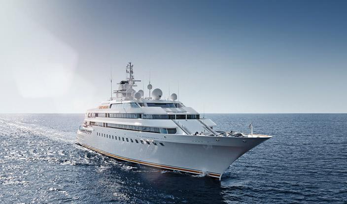 Самая дорогая яхта в мире #10 Lady Moura. Цена $210 млн