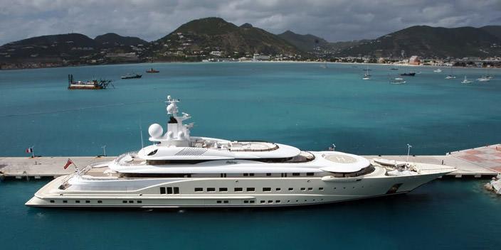 Самая дорогая яхта в мире #7 Pelorus. Цена $300 млн.