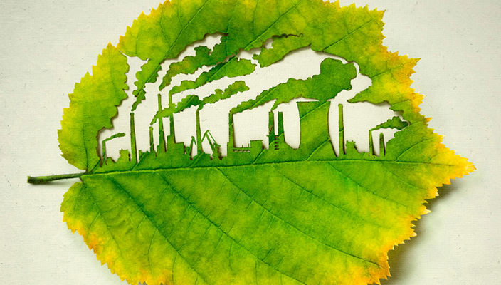 Зеленый листок