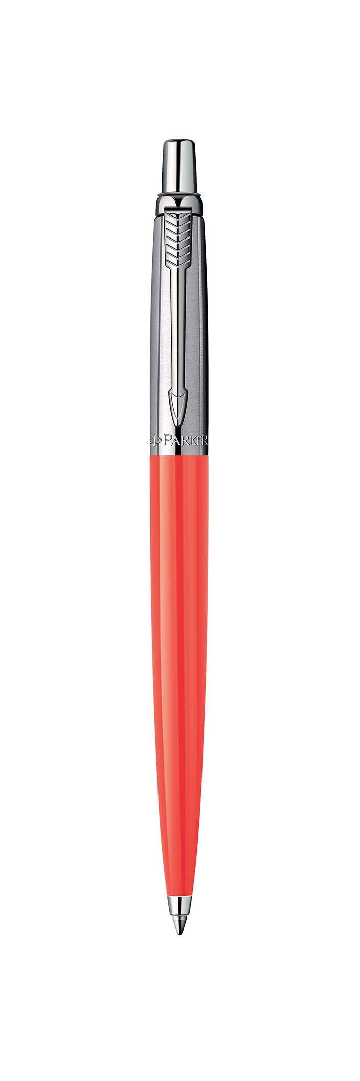 Коралловая шариковая ручка JOTTER
