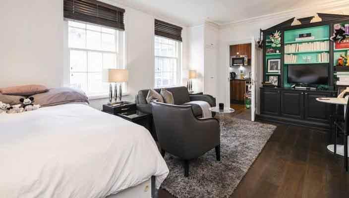 Квартира в центре Лондона за £1 млн. Район Мейфэр | фото