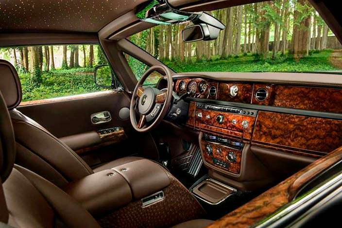 Фото | Салон Rolls-Royce Phantom Coupe Oud Edition