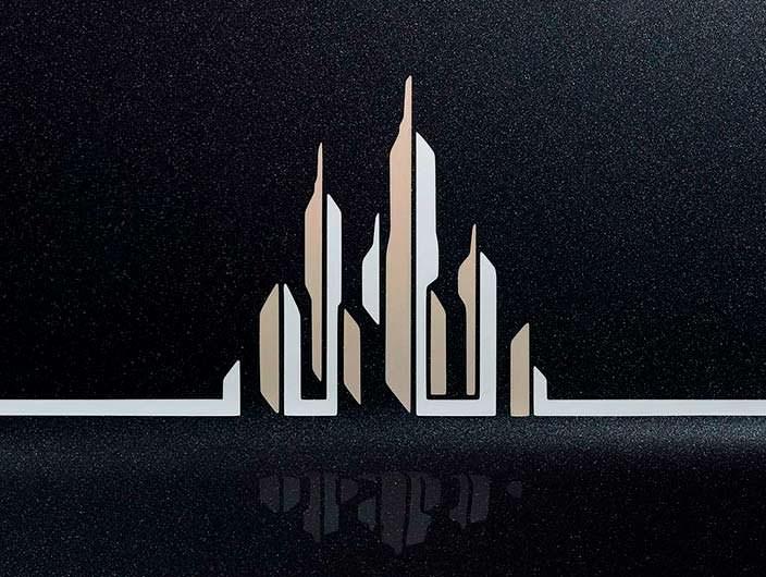 Фото | Логотип в салоне Rolls-Royce Phantom Metropolitan