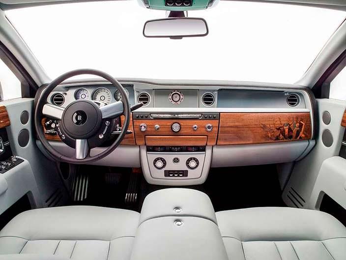 Фото | Интерьер Rolls-Royce Phantom Metropolitan