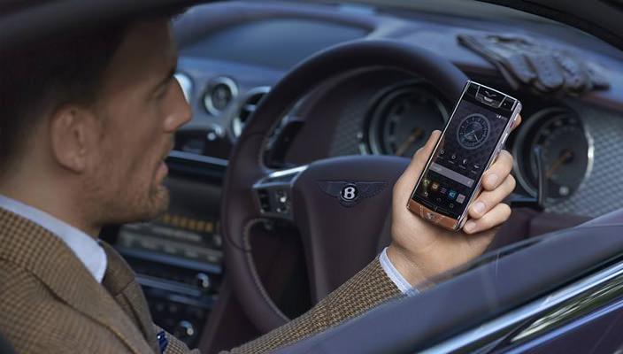 Смартфон Vertu Bentley
