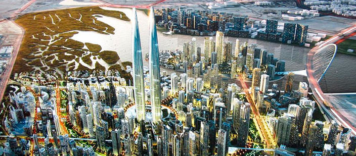 Самые невероятные новые проекты в Дубае   фото, обзор