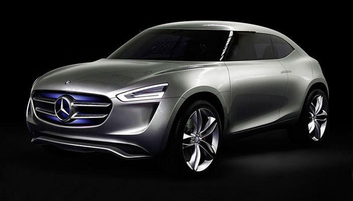 Концептуальный купе-кроссовер Mercedes-Benz G-Code | фото