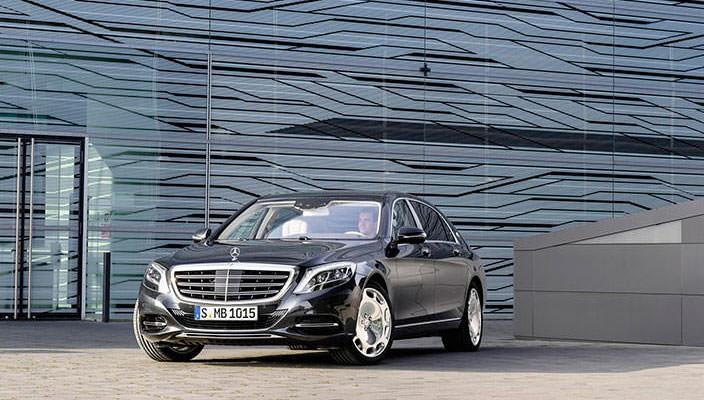 Официально: Mercedes-Maybach S-Class | 59 фото, видео