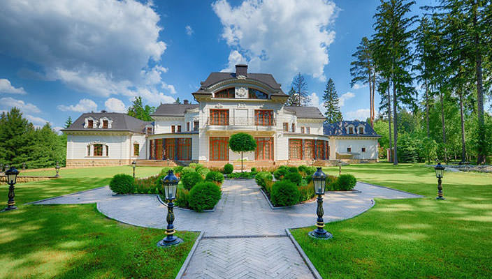 На Рублевке продается самая дорогая вилла за $100 млн | фото