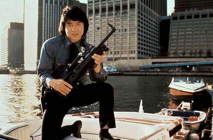 Джеки Чан в 1985 году