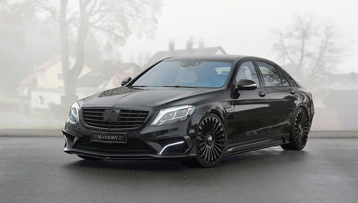 Mansory подготовил тюнинг Mercedes-Benz S 63 AMG   фото