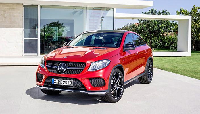 Купеобразный кроссовер Mercedes-Benz GLE Coupe | фото, видео