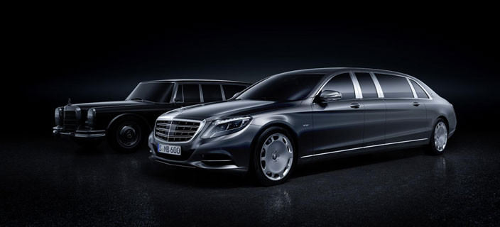 Новый лимузин Mercedes-Maybach Pullman S600 | фото, цена