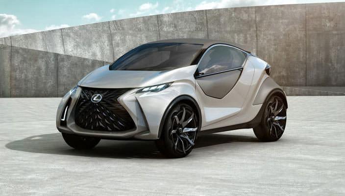 Самый маленький Lexus: LF-SA. Пока прототип | фото, инфо