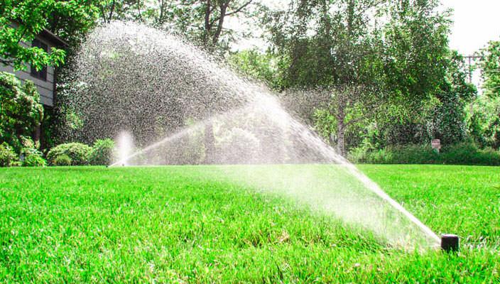 Автоматическая система полива газона