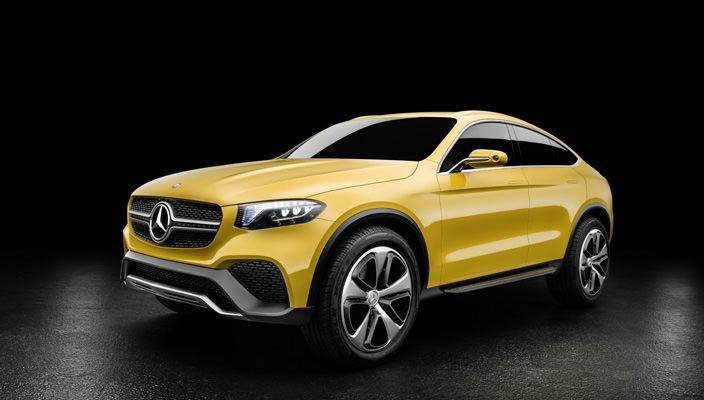Купе-кроссовер Mercedes GLC Coupe: пока лишь прототип   фото