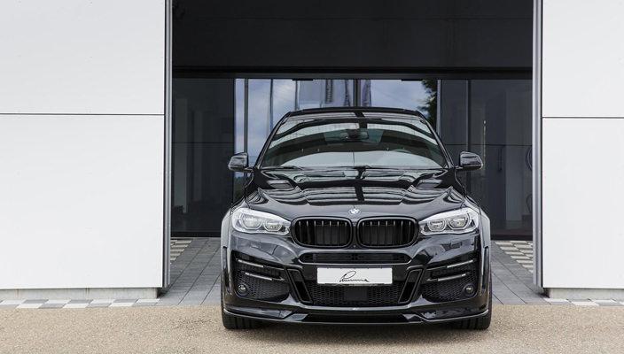 Тюнинг BMW X6 от Lumma Design   фото, обзор обвеса, инфо