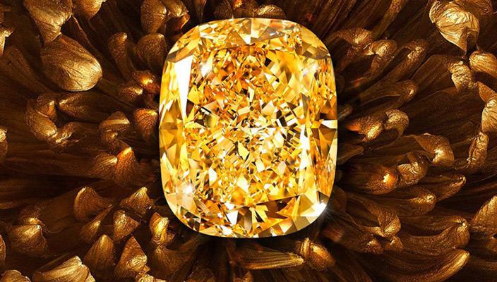 В Монако показали уникальный бриллиант Sarah на 132 карата