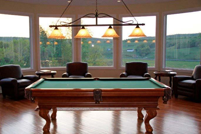 Фото   Бильярдная комната в частном доме