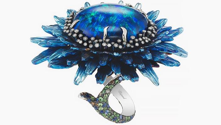 Показали новые коктейльные кольца Chopard | фото коллекции