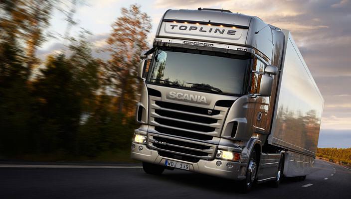 Ремонт карданных валов Scania у официального дилера