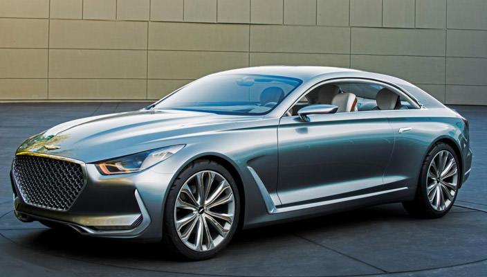 Концепт Hyundai Vision G - дизайн будущего   фото, хар-ки
