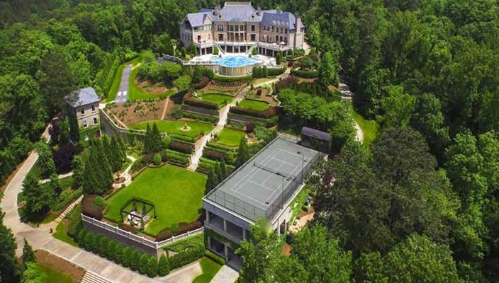 Дом Тайлера Перри в Атланте: дворец из сказки | фото, цена