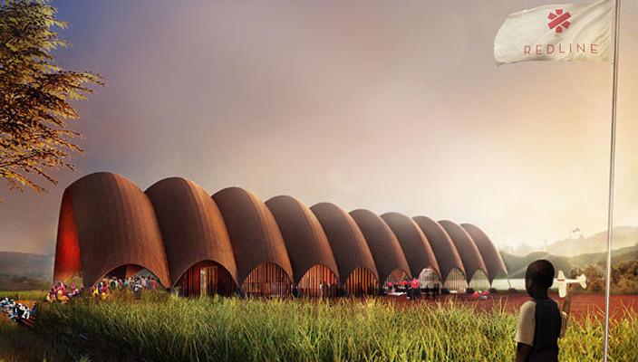 Норман Фостер построит первый в мире аэропорт дронов   фото