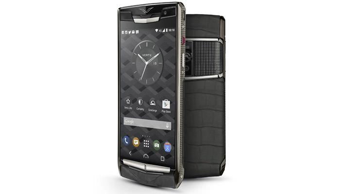 Элитный смартфон Vertu Signature Touch обновили   цена, инфо