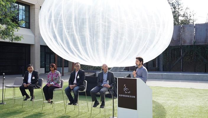 Воздушные шары Google начинают раздавать Интернет в 2016-ом