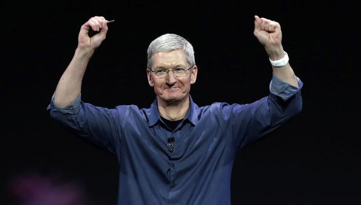 2015 финансовый год: продажи компании Apple бьют рекорды