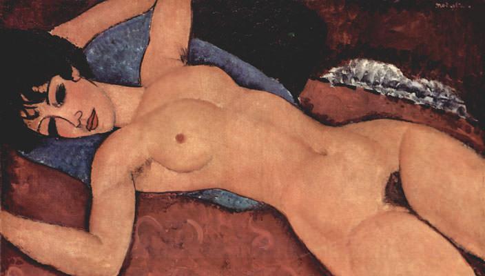 Reclining Nude Амедео Модильяни