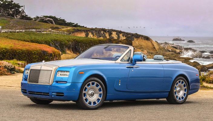 Обзор автомобиля Rolls-Royce Phantom Drophead Coupe