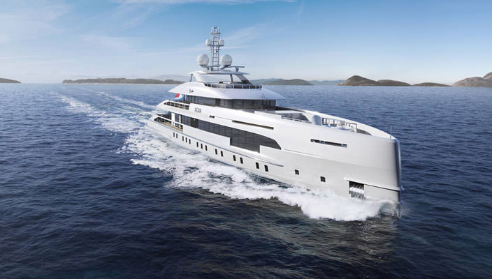 Гибридная яхта Project Nova от Heesen Yachts   фото, обзор