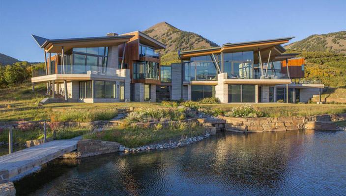 Шикарный дом с видом на горы в Колорадо   фото, цена, инфо