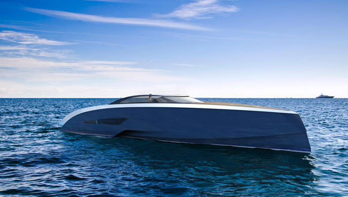 Яхта Bugatti Niniette: пока лишь концепт | фото, цена, обзор