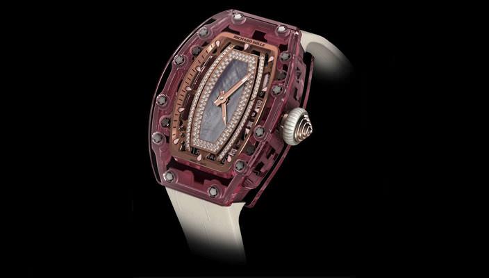 Richard Mille создал женские сапфировые часы-скелетоны | инфо