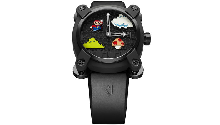 Швейцарские часы Super Mario от Romain Jerome   цена, инфо