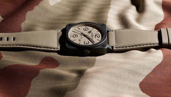 Новые швейцарские армейские часы Bell & Ross Desert Type