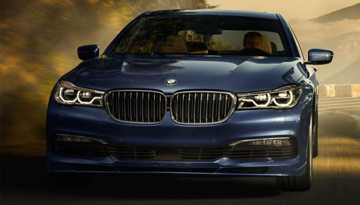 Alpina B7 xDrive на базе BMW 7-Series   фото, видео, хар-ки
