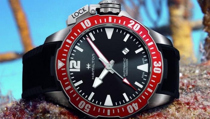Новые дайверские часы Hamilton Khaki Navy Frogman | фото