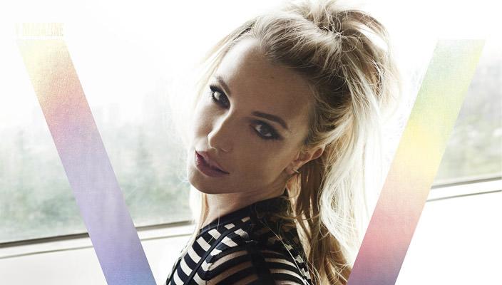 Бритни Спирс украсила 100-й выпуск журнала V Magazine | фото