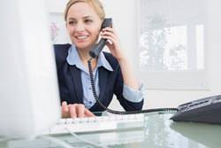Телефонные разговоры в офисе